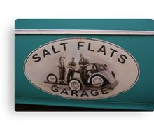 Salt Flats Canvas Print