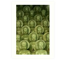 Little Buddhas - Cheongdo, South Korea Art Print