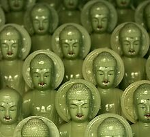 Little Buddhas - Cheongdo, South Korea by Alex Zuccarelli