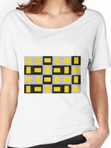 Abstract Mounts Women's Relaxed Fit T-Shirt