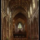 Chester Cathedral Interior by Emma Wright