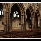 Chester Cathedral Interior II by Emma Wright