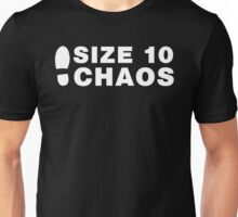 Size 10 Chaos Unisex T-Shirt