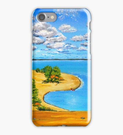 Dune beach Sandbanks Ontario iPhone Case/Skin