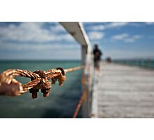 Rusting Jetty Photographic Print
