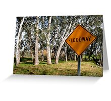 White Gums IV (Floodway) Greeting Card