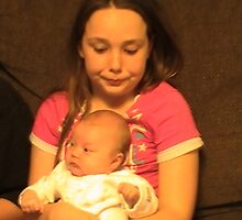 my and my beatiful neice by christelljune