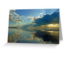Freshwater West - Golden Light Greeting Card