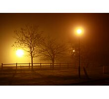 Foggy Evening in County Clare Photographic Print
