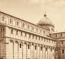 Duomo in Pisa Italy Sticker