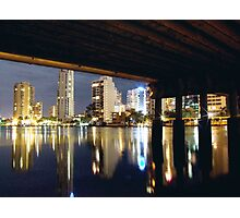 GOLD COAST NIGHT LIGHTS Photographic Print