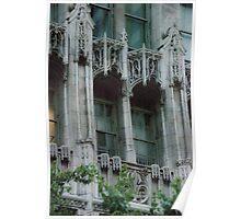 Architectural Detail - Chicago Tribune Building Poster