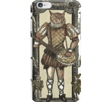 Banjo Cat with Frame iPhone Case/Skin