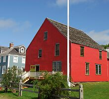 Red House, Shelburne. by Richard  Stanley