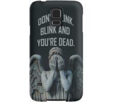 Don't Blink Samsung Galaxy Case/Skin