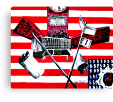 The Un-address-ed / NYCHA and Mayor Bloomberg inspired Canvas Print