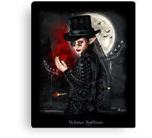 Victorian nightmare Canvas Print