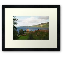 Urquhart Castle and Loch Ness Framed Print