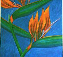 flor del paraiso by coralina