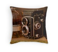 Rolleicord V Throw Pillow