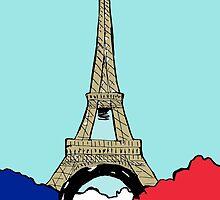Eiffel tower by Logan81