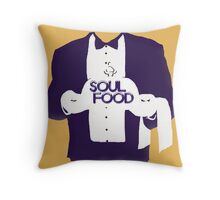 Soul Food Throw Pillow
