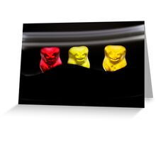 Gummy Bear Photography - The Audience Greeting Card