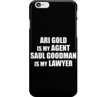 Ari and Saul iPhone Case/Skin