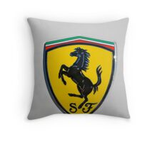 Scuderia Ferrari Throw Pillow