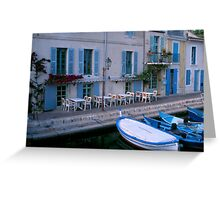 Martigues, France Greeting Card