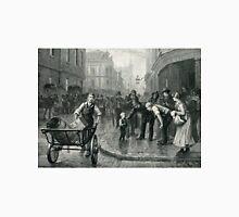Homeless, after Bruce Largos 1891 Unisex T-Shirt