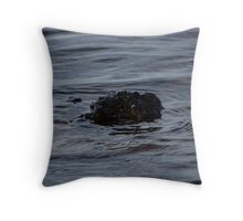 Sea Ripple Throw Pillow
