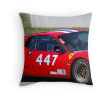 Ferrari Up Close Throw Pillow
