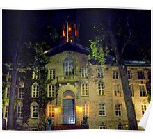 Night  Campus  Princeton  Poster