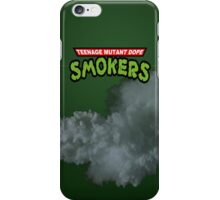 Teenage Mutant Dope Smokers iPhone Case/Skin