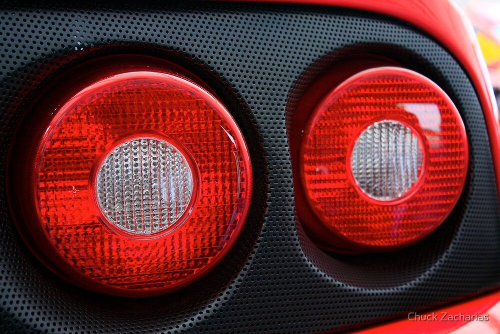 Taillights by Chuck Zacharias