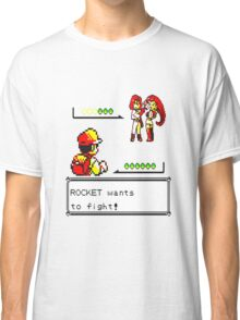 Pokemon Yellow - Rocket Battle Classic T-Shirt