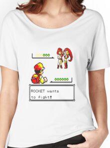 Pokemon Yellow - Rocket Battle Women's Relaxed Fit T-Shirt