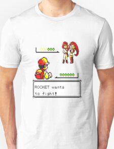 Pokemon Yellow - Rocket Battle T-Shirt