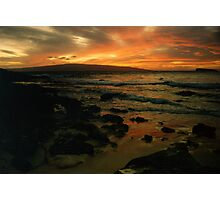 Maui Sunset Photographic Print