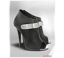Guiseppe shoes painting Poster