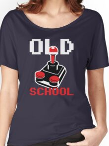 Retro Old School Gamer Women's Relaxed Fit T-Shirt