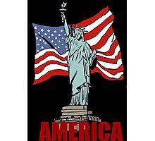 America Photographic Print
