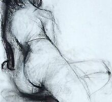 Life drawing 123 by Benjamin Ruskin