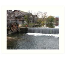 old mill Art Print