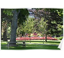 Charlottetown Floral Display Poster