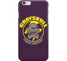 Grayskull Power Company iPhone Case/Skin