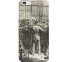 Fraud of the Century USA election 1876 iPhone Case/Skin