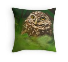 Out of the Burrow Throw Pillow