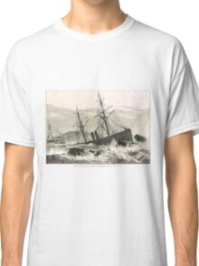 Wreck of St Lawrence on Paternoster Reef Classic T-Shirt